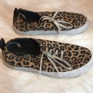 Vans Shoes - LEOPARD STYLE VANS W SZ6.5